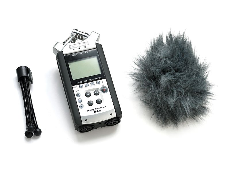 H4n handy recorder microphone