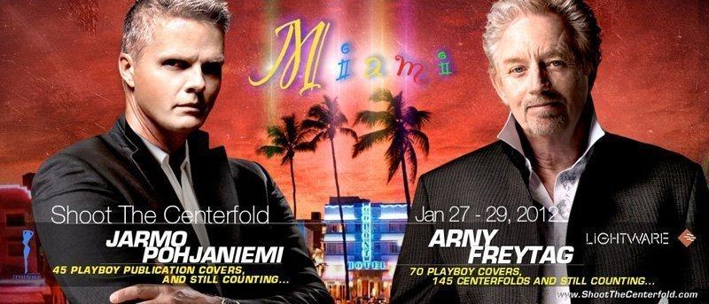 Shoot the Centerfold Miami 2012