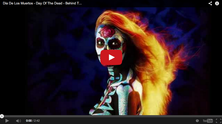Dia De Los Muertos – Day Of The Dead – Behind The Scenes