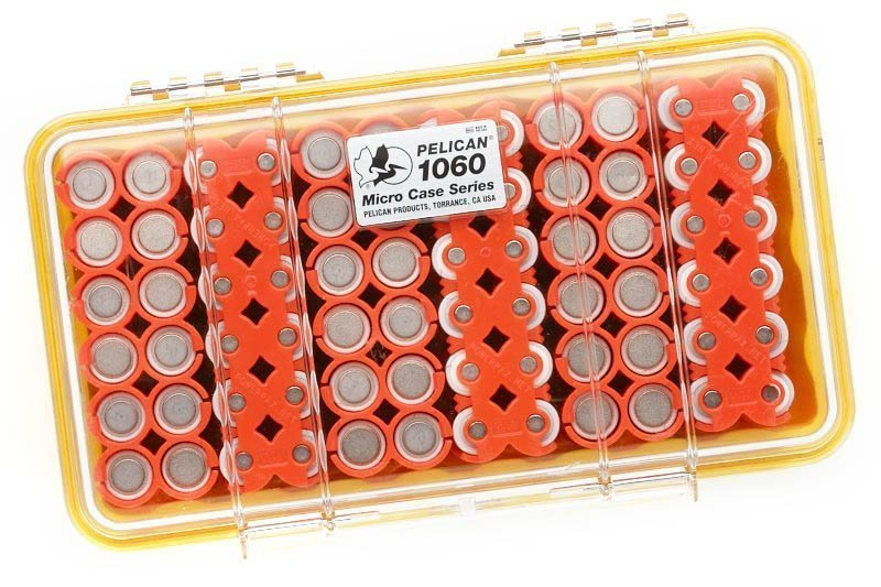 How To Pack And Organize 72 Rechargeable AA Batteries