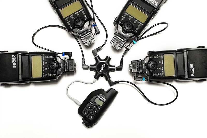 belkin rockstart and canon flashes