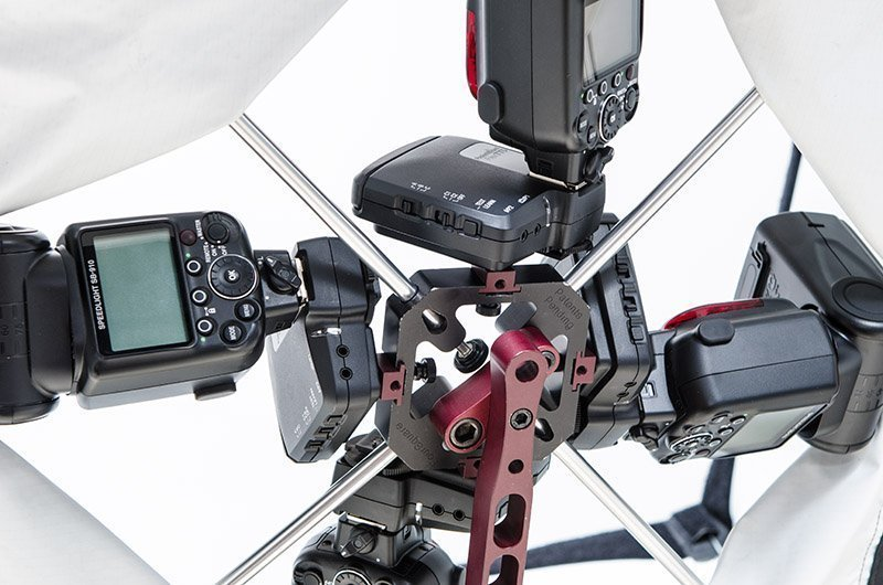 Mounting the new style Flex TT5 using Mini Mounts